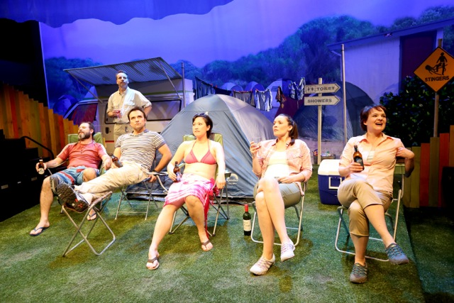 ben ager jamie oxenbould david terry karen pang jennifer corren and michelle doake in camp copy